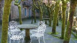 los jardines del pazo de faramello