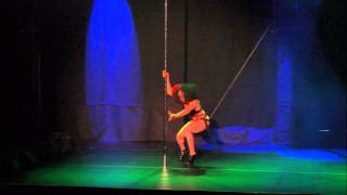 Pole Theatre USA 2015 Amateur Champion - Kitty Marie LaVeaux