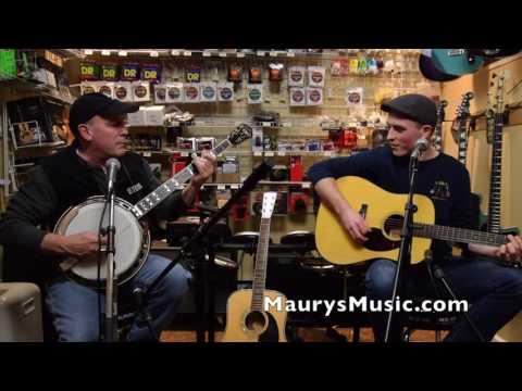 Pat & Shane McGeehan - Salt Creek (cover) at  Maury's Music