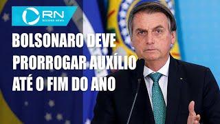 Bolsonaro deve prorrogar auxílio até o fim do ano com parcelas de R$ 300