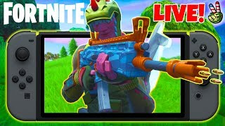 Pro Nintendo Switch Player! // SQUIRT GUN CAMO!!! // (Fortnite Battle Royale LIVE)
