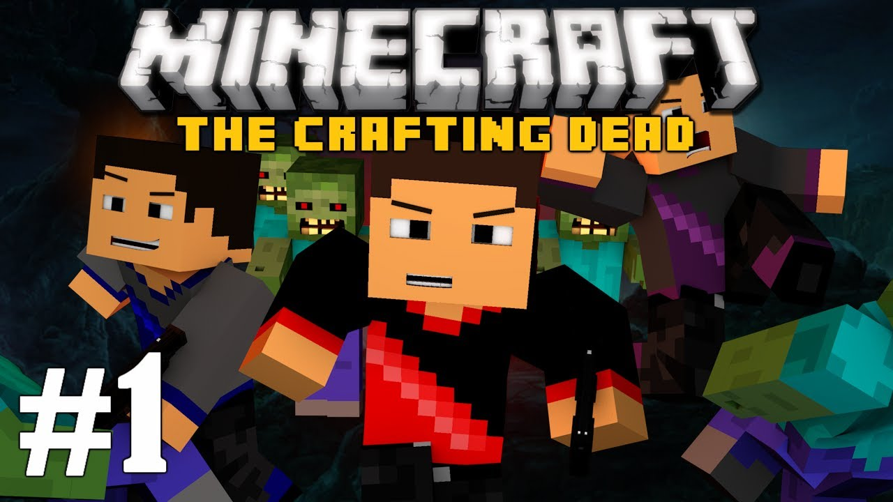 Minecraft the crafting dead ep 1 the madness begins for Minecraft crafting dead servers