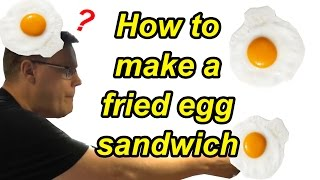 How to make a fried egg sandwich with Andalucian olive oil