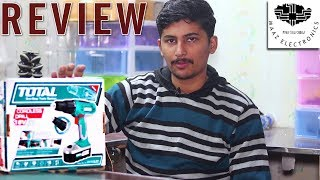 Unboxing & Review of Total Cordless Drill DC 18V Kit Urdu, Hindi