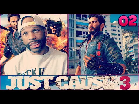 JUST CAUSE 3 WALKTHROUGH GAMEPLAY PART 2 - TAKING OVER THE CITY!