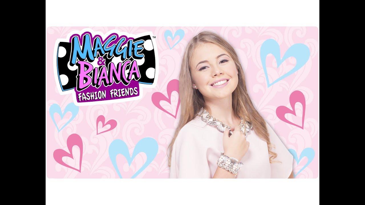 Maggie bianca fashion friends bianca arriva alla for Disegni da colorare maggie e bianca
