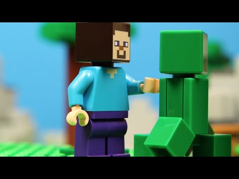 LEGO Stop Motion Animation Movie 2019 Minecraft Compilation! Funny LEGO Brickfilms