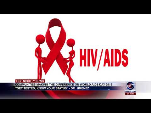 COMMUNITIES MAKING THE DIFFERENCE ON WORLD AIDS DAY 2019