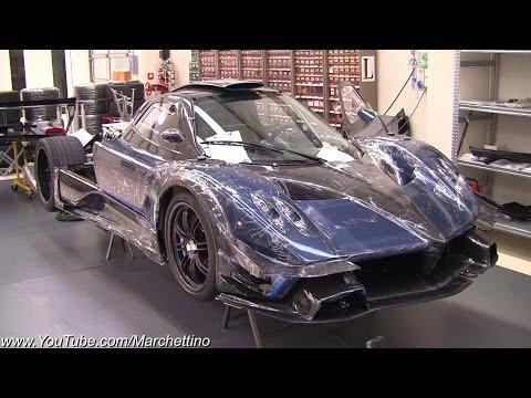 Carbon Blue Pagani Zonda Revolution - €2.2m Hypercar