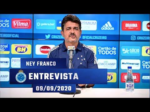 ?️ Entrevista com Ney Franco, novo técnico do Cruzeiro - 09/09/2020