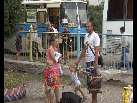 70 человек беженцев привезли в Рассказово