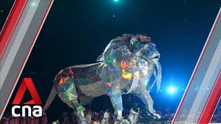 NDP 2019 to feature six-metre tall lion puppet in laser spectacle
