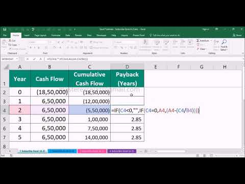 how-to-calculate-payback-period-using-formula-in-ms-office-excel-2016
