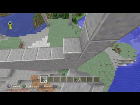 (Minecraft) BUILDING FROM TOP TO BOTTOM