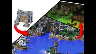 EPIC Minecraft Kingdoms Of Greymane - Transformation!