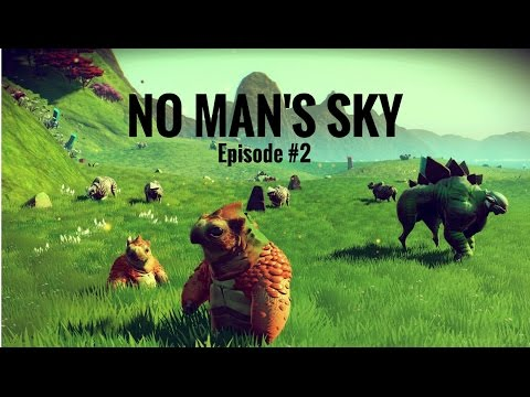 No Man's Sky Episode 2 - THE PATH TO THE ATLAS INTERFACE!!