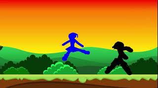 1 Dakikalık pivot animasyon dövüşü