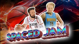 Spaced Jam (NBA Live 96 Gameplay)