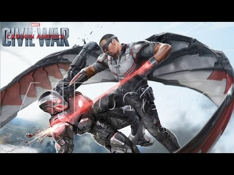 war machine vs captain america