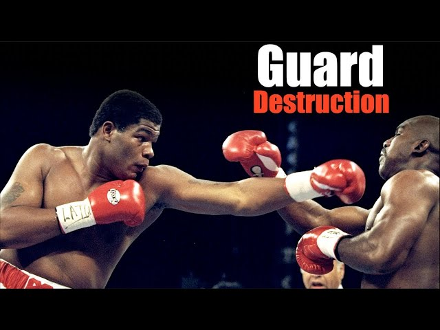 Riddick Bowe's Superb Boxing & Insane Power Punches Explained -  Technique Breakdown