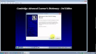how to install cambridge dictionary