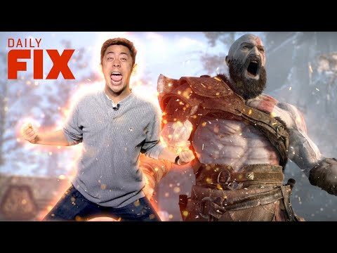 God of War Keeps PS4 on Top - IGN Daily Fix