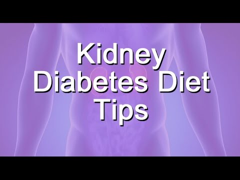Kidney Diabetes Diet Tips