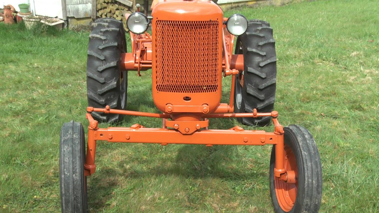1952 Allis Chalmers Ca Wiring Diagram Reinvent Your Garden Tractor Pics Youtube Rh Com 712 Wd45
