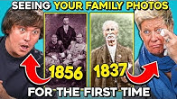 Generations See What Their 150 Year Old Relatives Look Like For The First Time