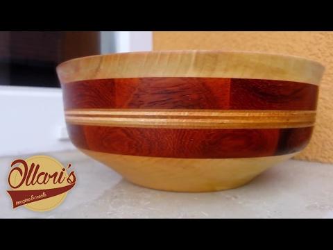 Padalar Bowl / Segmented Wood turning