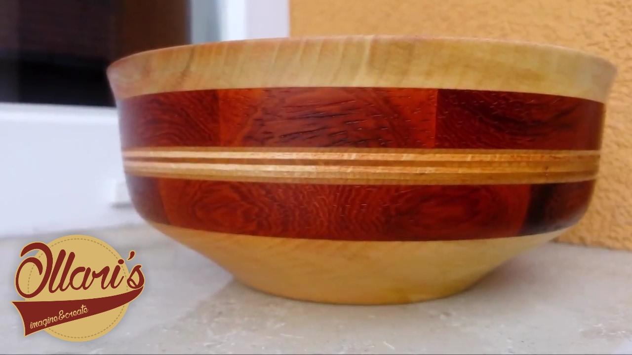 Padalar Bowl Segmented Wood Turning