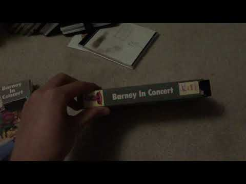 2 Different Versions of Barney in Concert 1991 VHS