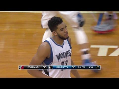 Quarter 2 One Box Video :Timberwolves Vs. Trail Blazers, 1/1/2017 12:00:00 AM