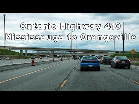 2017/05/22 - Ontario Highway 410 - Mississauga to Orangeville