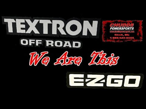 Chudds Is Your Manitoba Textron Off Road & EZGo Destination Dealer!