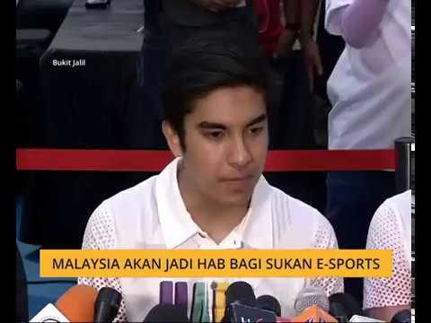 Malaysia akan jadi hab bagi sukan e-Sports