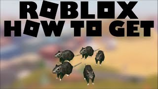 [PROMOCODE] How to get RATS - Roblox