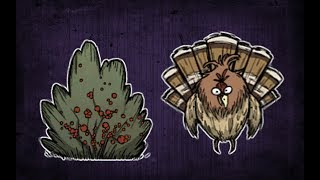 Massive Berry Harvest(days 39-41 Holy Trinity Series Don't Starve Together) Ft. Bloodraven