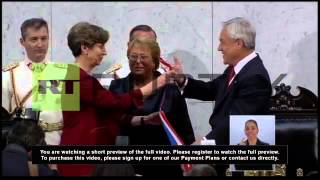 Chile: Bachelet sworn in as president for the second time