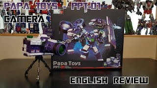 Transformers PAPA TOYS PPT-01 PPT01 Camera mini Robot Action Figure Toy
