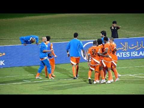 Al Wasl - Ajman 2-4 (1-2): Waleed Ahmed - Penalty