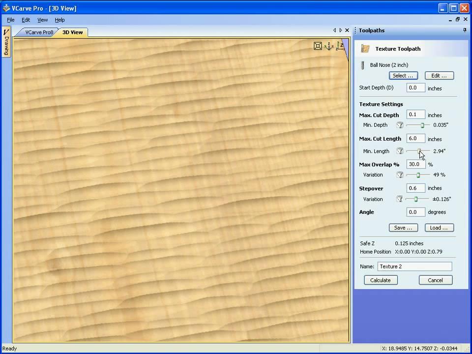 VCarve Pro - Machining 3D Textures