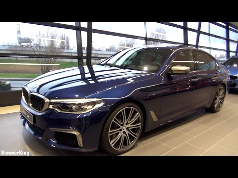 2018 5 series bmw m550i xdrive full review interior exterior youtube. Black Bedroom Furniture Sets. Home Design Ideas