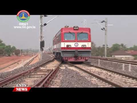 Construction of Laos-China railway schedules for completion at the end of this year.