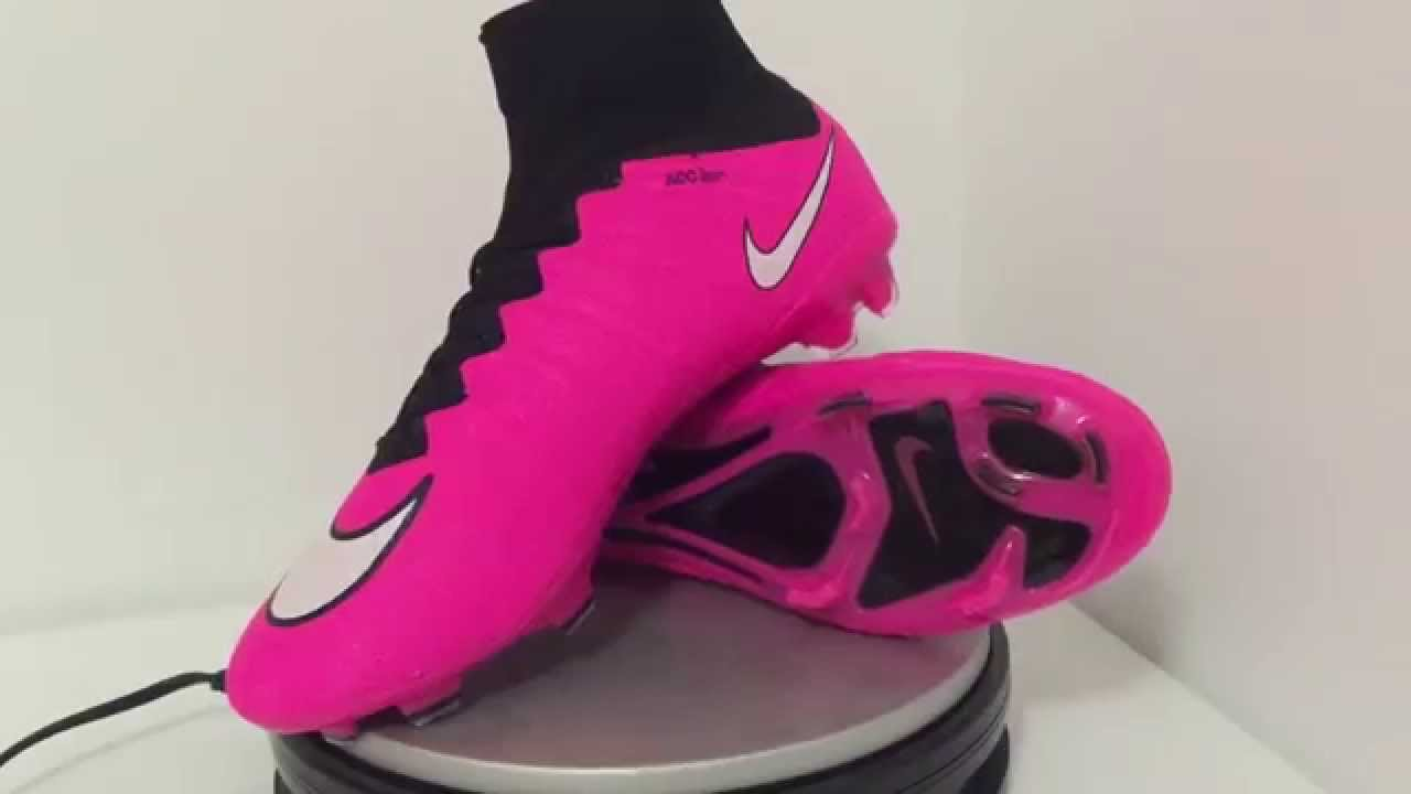 pink nike mercurial superfly fg 2015 football shoes youtube. Black Bedroom Furniture Sets. Home Design Ideas