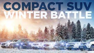 SUV Battle 2021: Compact SUV Winter Battle