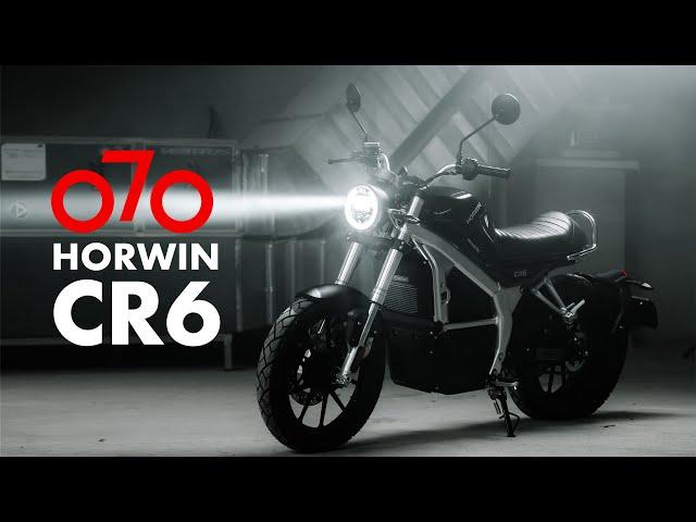 Horwin CR6 - Motocicleta Electrica Cafe Racer || Electric Motorcycle