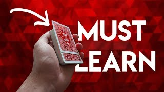 The Most CONVINCING Double Lift ?! Amazing Card Trick TUTORIAL