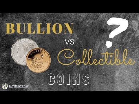 Bullion vs. Collectible Coins
