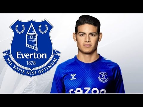 James Rodriguez Welcome To Everton 2020 Youtube
